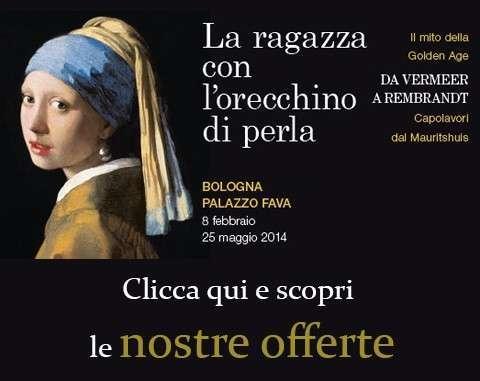 Offerta Il Villino Bologna mostra Vermeer