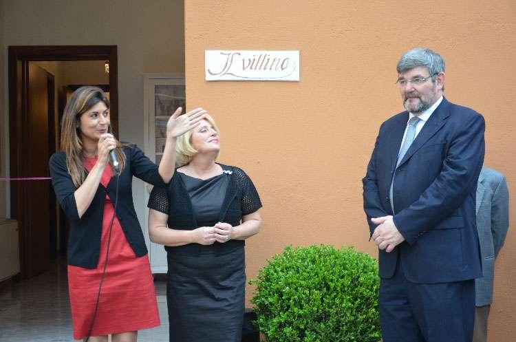 Einweihung des Ferienhauses Il Villino