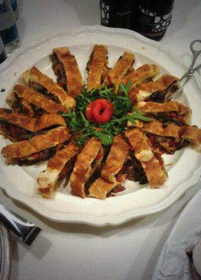 buffet al Villino – torta vegetariana