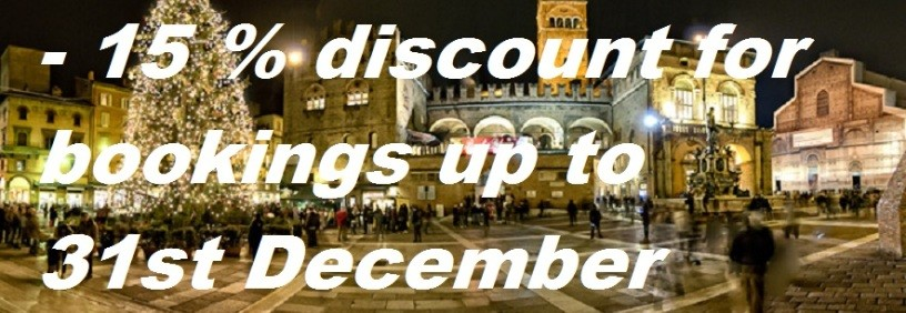 DISCOUNT FOR BOOKINGS UP TO 31ST DECEMBER 2014