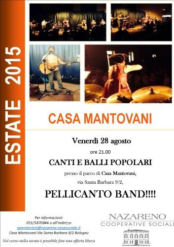 Estate 2015 a Casa Mantovani