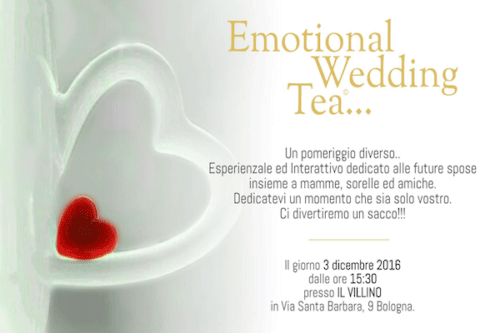 Emotional Wedding Tea al Villino